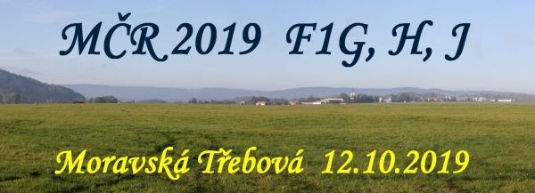 MČR 2019 F1G, H, J Moravská Třebová