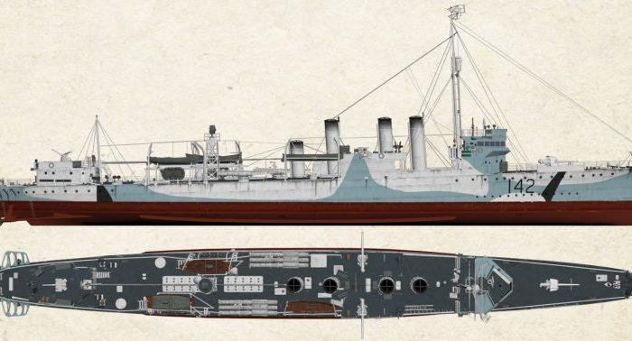 Stavba Tomášova HMS CAMPBELTOWN