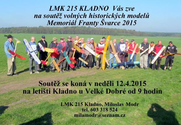 Memoriál F.Švarce 2015 pozvánka