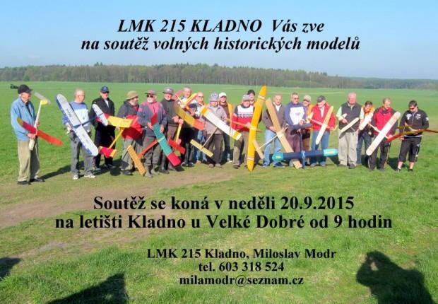 Pozvánka Historické modely 20.9.2015