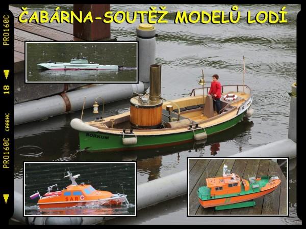 Čabárna – soutěž modelů lodí