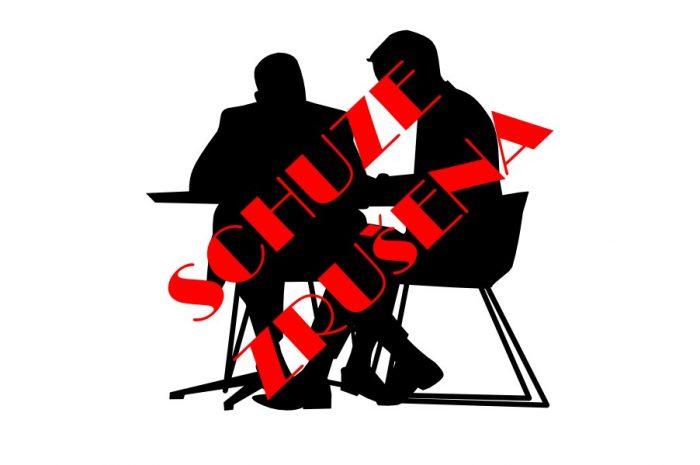 Zrušení členské schůze, info k soutěžím